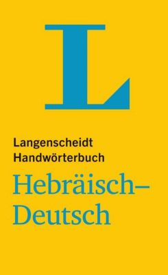 Buch - Langenscheidt Handwörterbuch Hebräisch-Deutsch