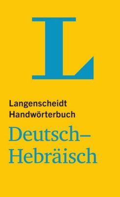 Buch - Langenscheidt Handwörterbuch Deutsch-Hebräisch