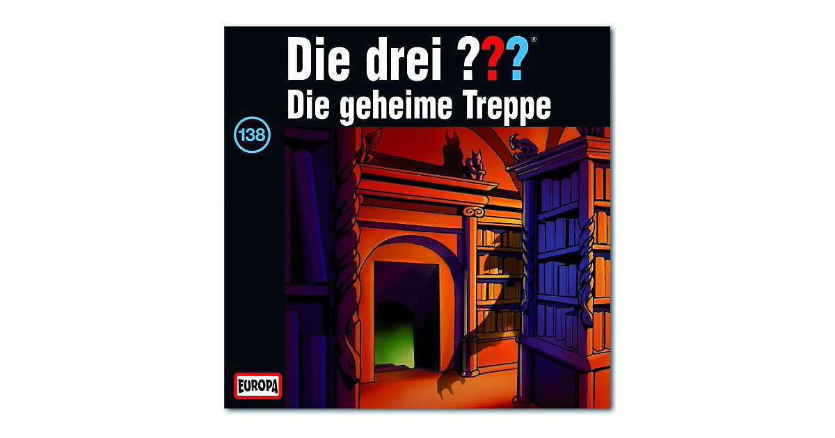 CD Die Drei ??? 138 - Die geheime Treppe Hörbuch