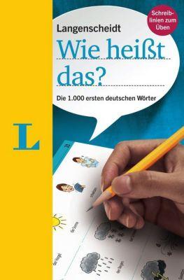 Buch - Langenscheidt Wie heißt das? - Deutsch als Fremdsprache