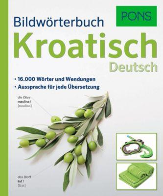 Buch - PONS Bildwörterbuch Kroatisch / Deutsch