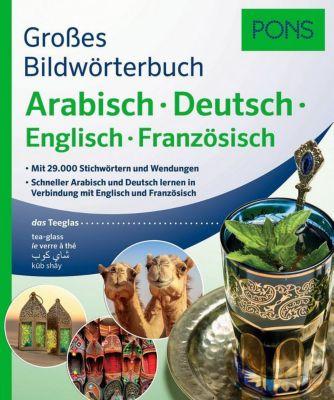 Buch - PONS Großes Bildwörterbuch Arabisch - Deutsch + Englisch und Französisch