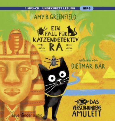 Ein Fall Katzendetektiv Ra - Das verschwundene Amulett, 1 Audio-CD, Hörbuch  Kinder