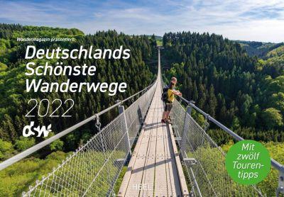 Buch - Deutschlands schönste Wanderwege 2022