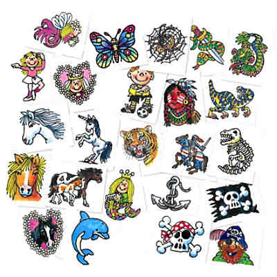 "Mini-Tattoo-Sets ""Kids"" 24-tlg,"