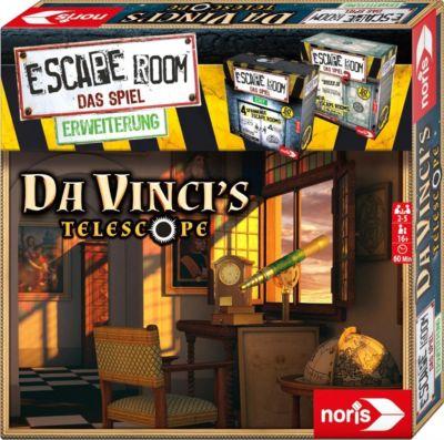 Escape Room Das Spiel - Erweiterung - Da Vincis Teleskop