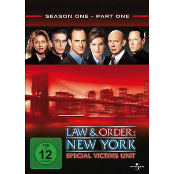 DVD Law & Order: New York - Special Victims Unit 1.1