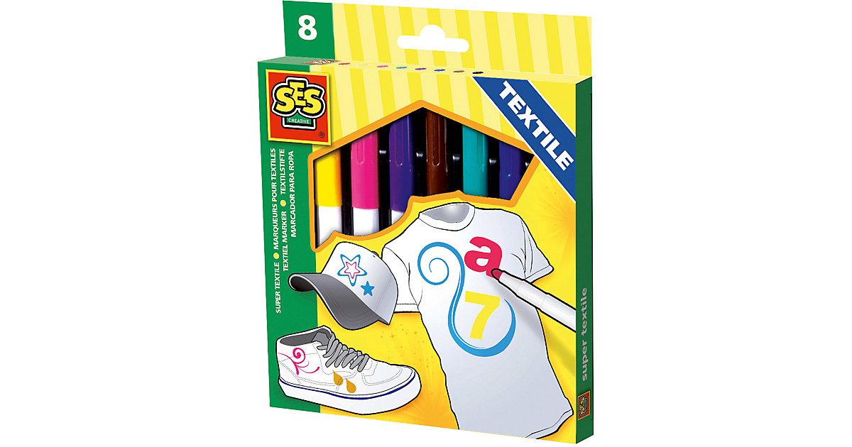 Creative Textilmalstifte  8 Stück