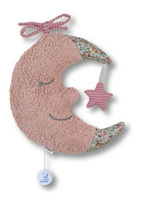 Spieluhr L Mond rosa Spieluhren bunt