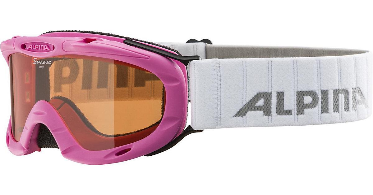 Skibrille Ruby S, pink