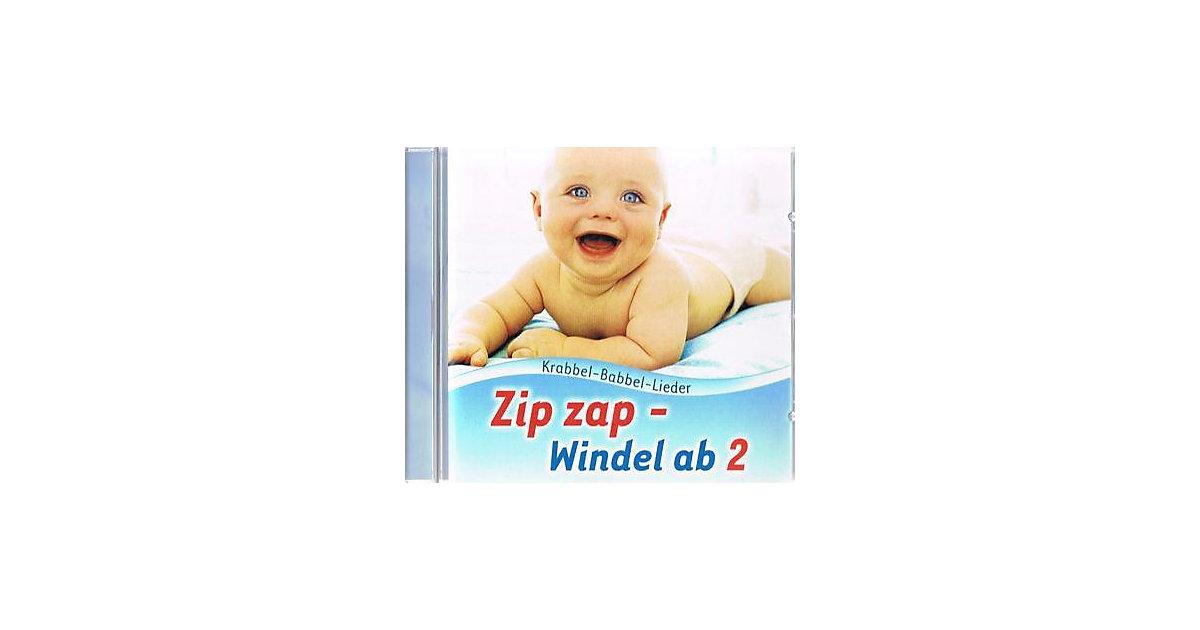 CD Zip zap - Windel ab! (Krabbel-Babbel-Lieder)...