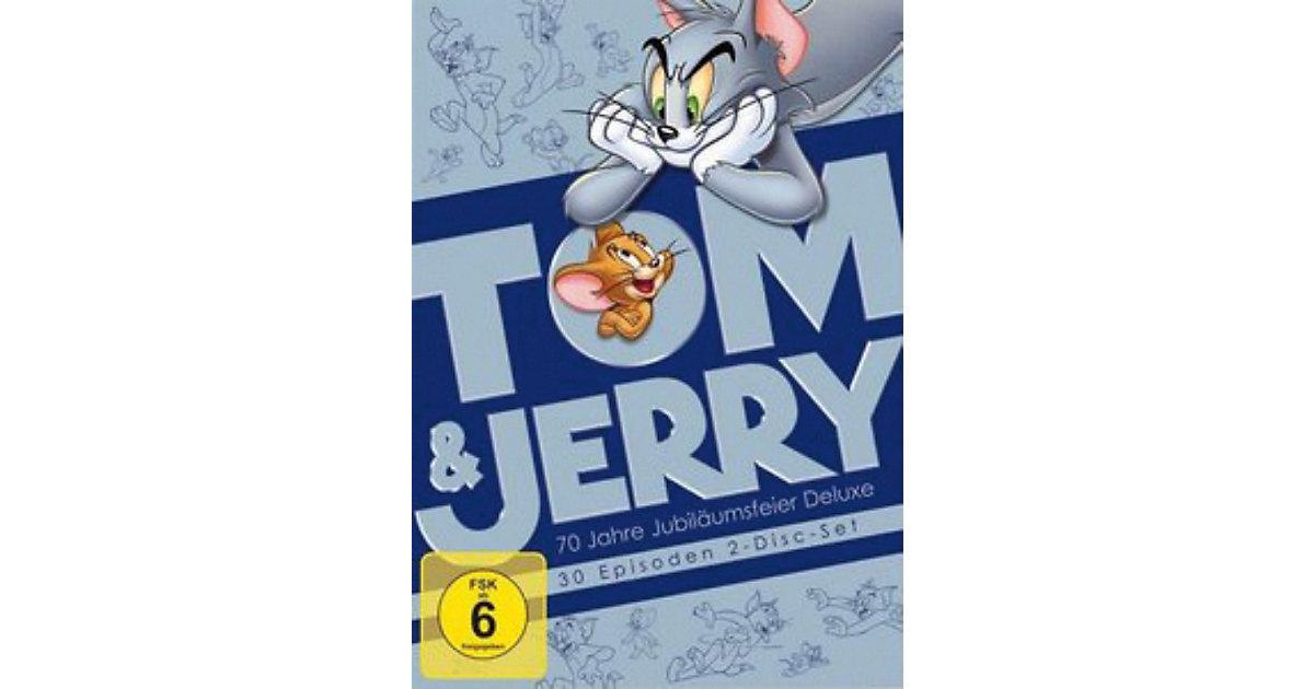 DVD Tom & Jerry - 70 Jahre Jubiläumsfeier Delux...