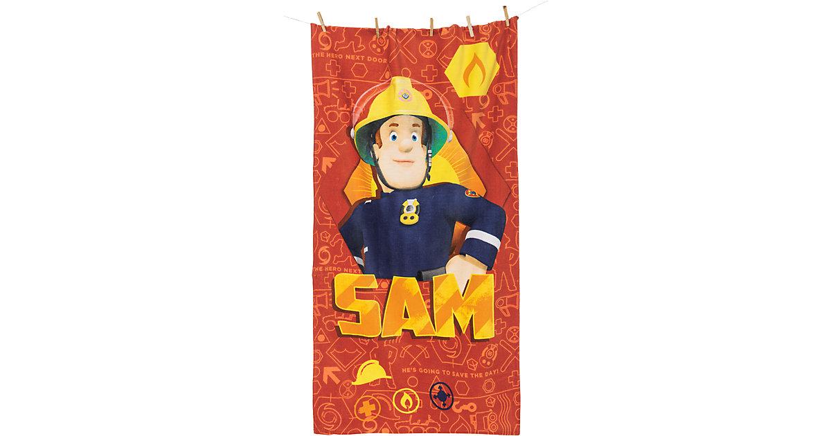 Herding · Strand- & Badetuch Feuerwehrmann Sam, 75 x 150 cm