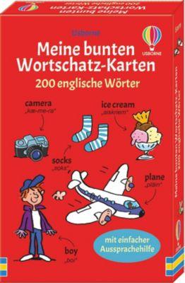 Buch - Meine bunten Wortschatz-Karten - 200 englische Wörter