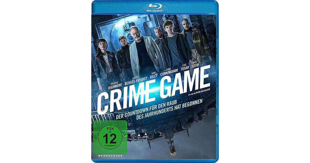 BLU-RAY Crime Game BD Hörbuch
