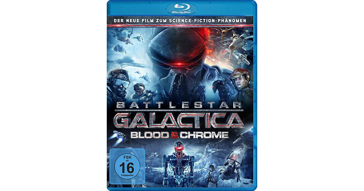 BLU-RAY Battlestar Galactica: Blood & Chrome Hörbuch