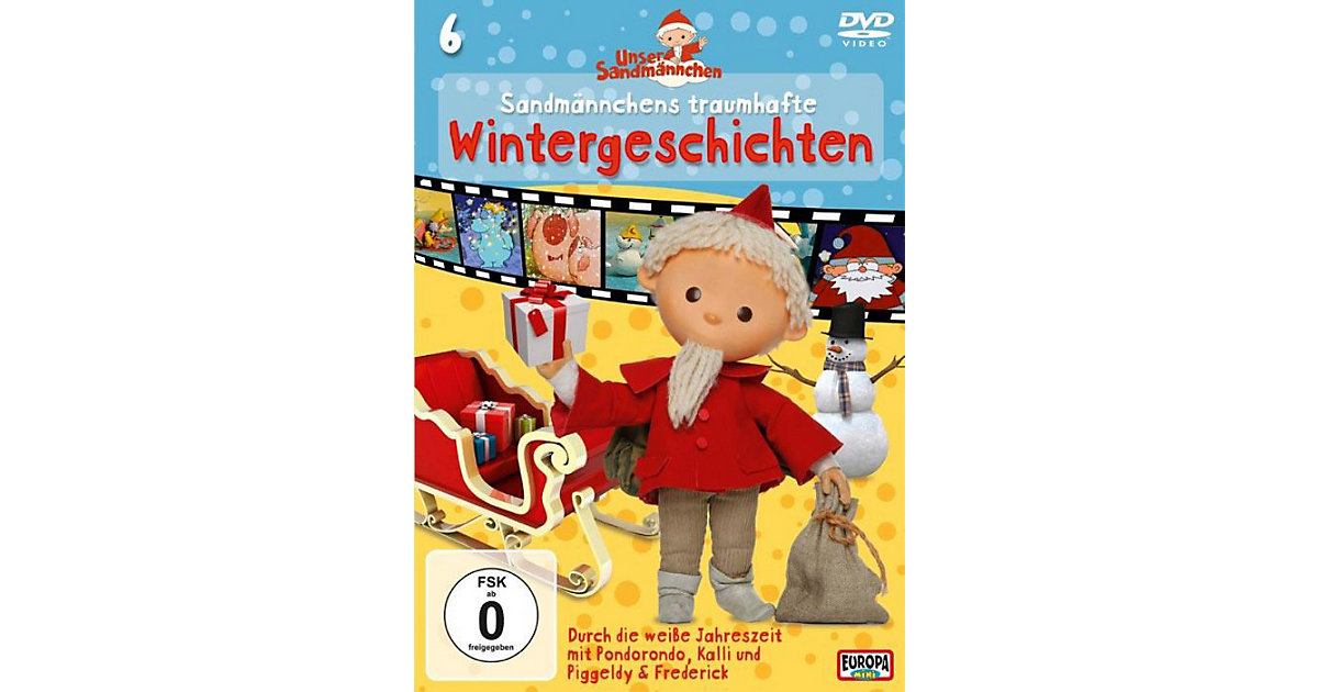 DVD Unser Sandmännchen 6/Sandmännchens traumhafte Win Hörbuch