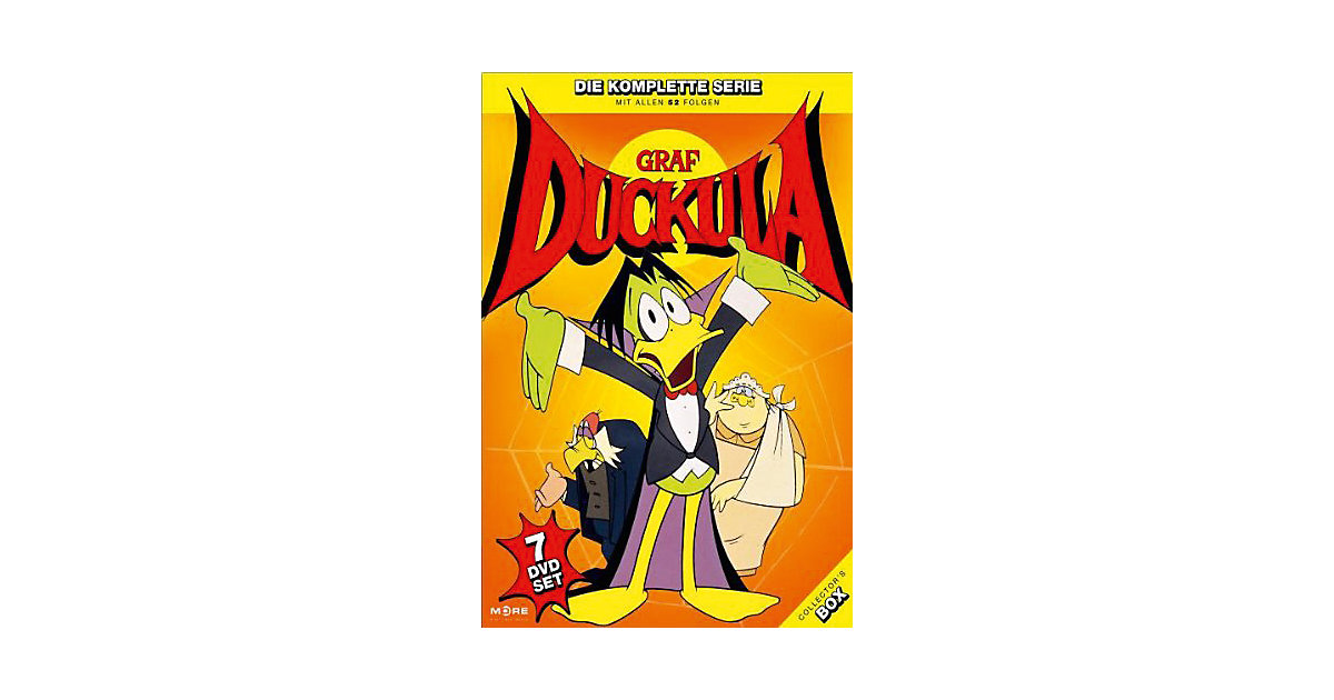 DVD Graf Duckula Collector´S Box (7 DVDS)