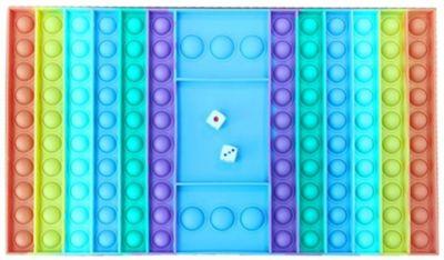 Bubble Pops Brettspiel incl. Würfel