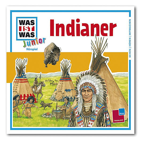 CD Was ist Was Junior 16 - Indianer