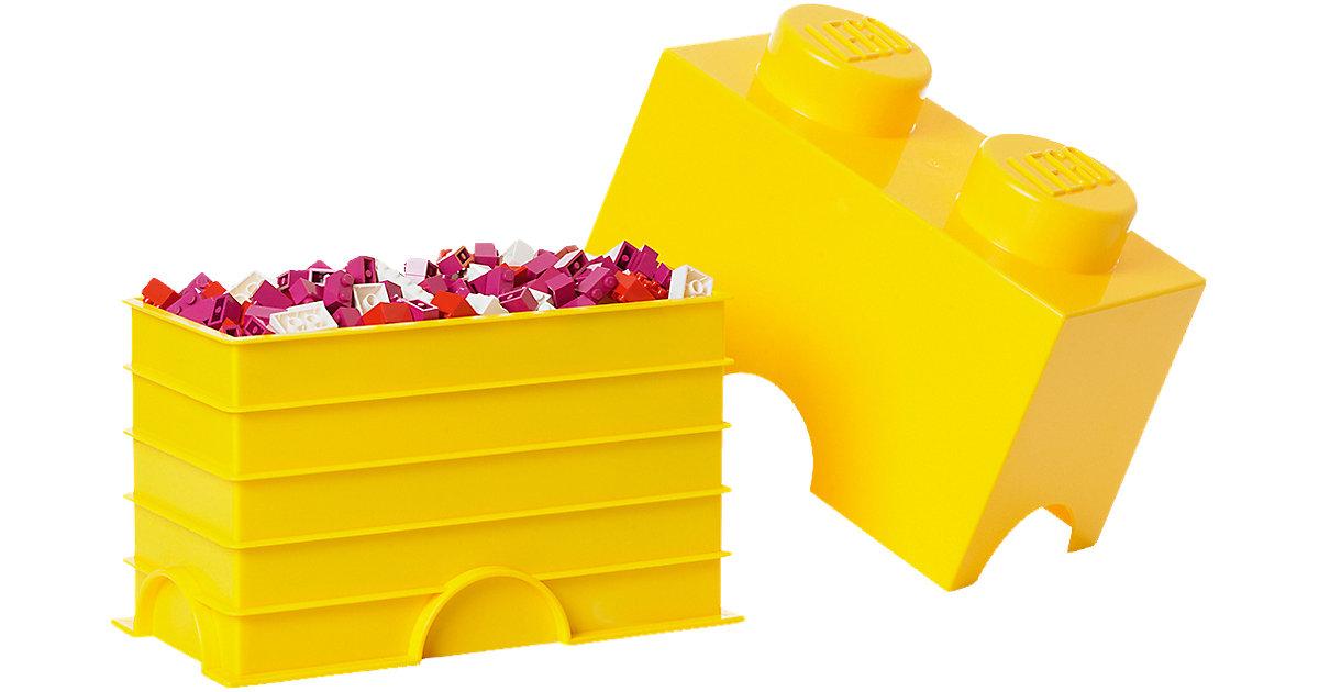Aufbewahrungsdose Storage Brick 2er gelb