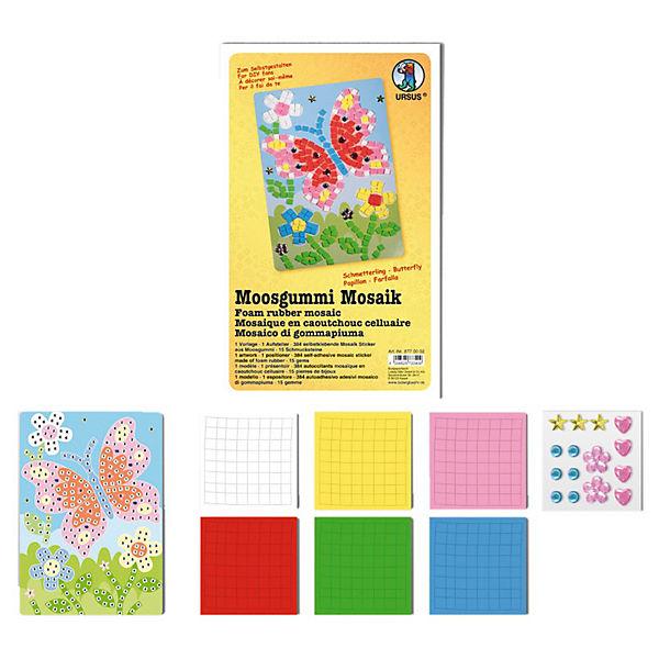 Moosgummi Mosaik Schmetterling URSUS