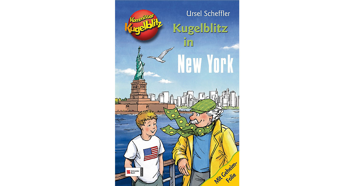 Kommissar Kugelblitz: Kugelblitz in New York