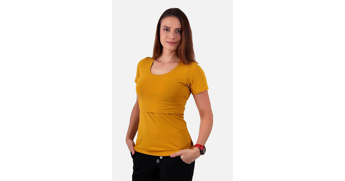 Stillshirt Katharina Stillshirts gelbgold Gr. 34/38 Damen Erwachsene