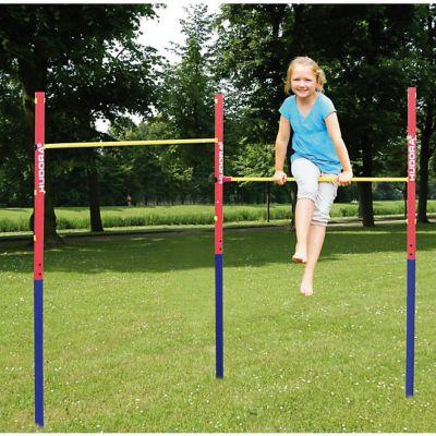 Kinder Hudora Turnreck Fabian 4 Pfosten mit je 102 cm Höhe mit Reckaufnahmen NEU