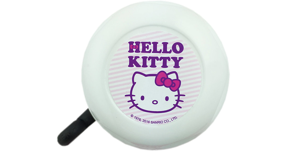 Hello Kitty Fahrradklingel weiß