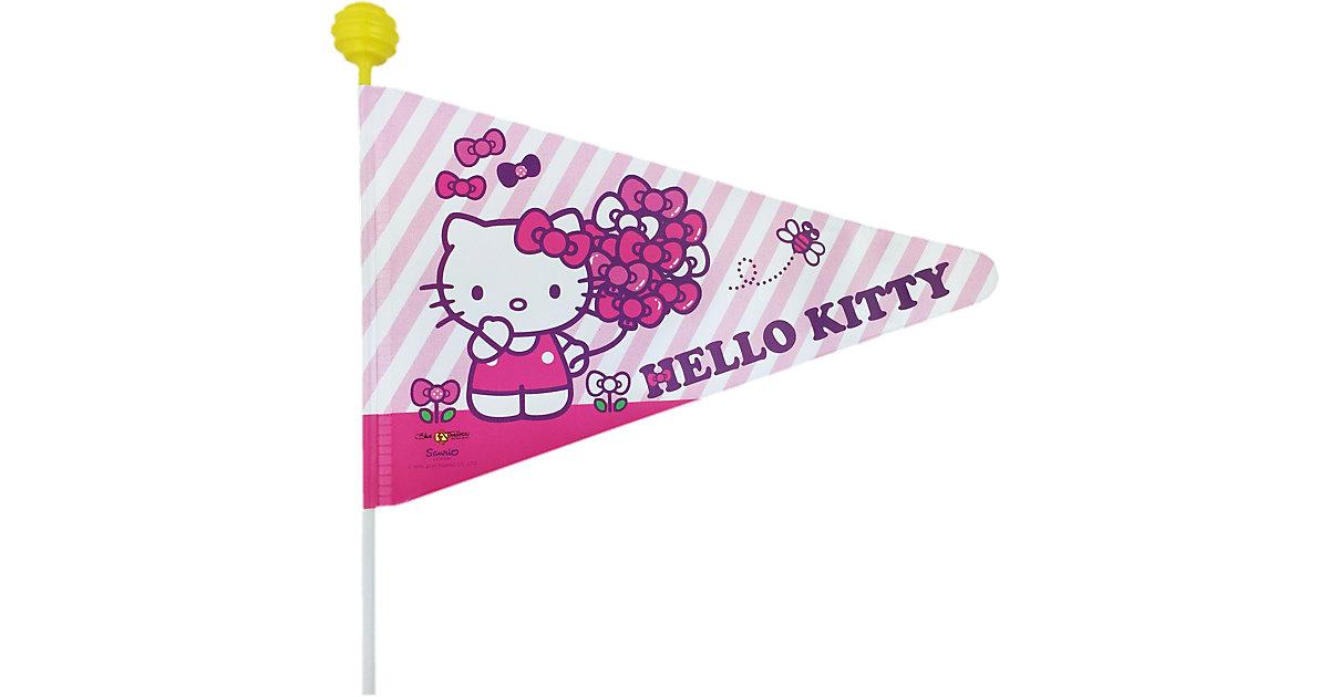Hello Kitty Fahrradwimpel rosa/lila