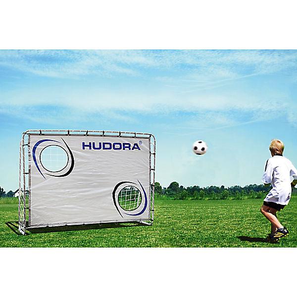 Fußballtor Trainer mit Torwand 213 cm Hudora