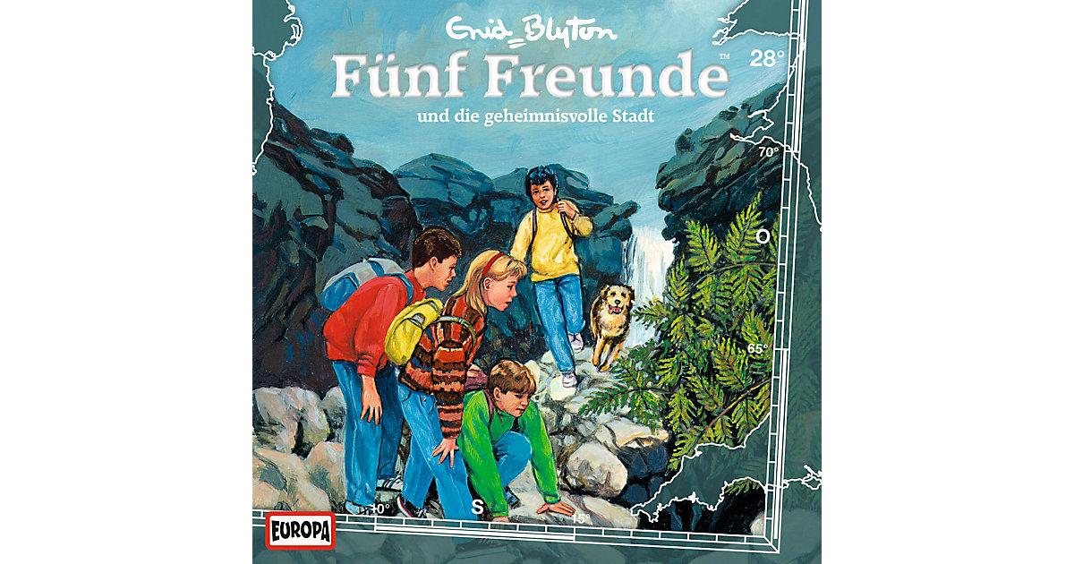 CD Fünf Freunde 028/und die geheimnisvolle Sta