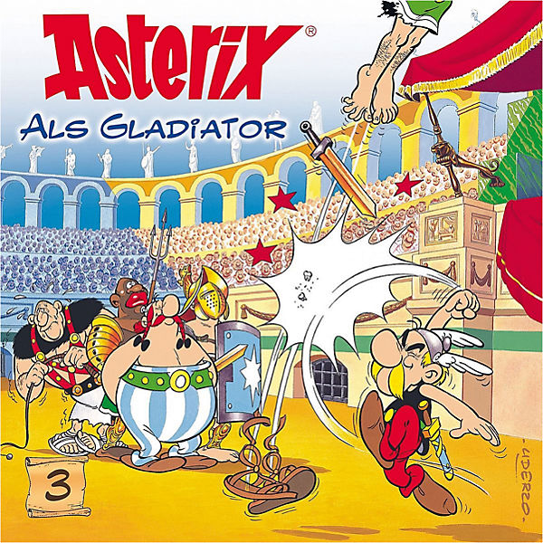 CD Asterix Als Gladiator