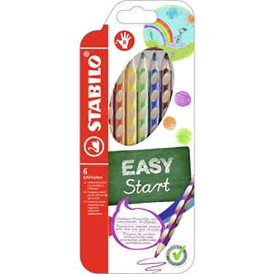 Buntstift EASYcolors R, 6 Farben