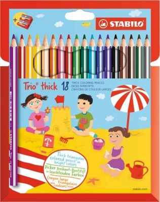 STABILO Buntstifte GREENcolors 12er Karton-Etui