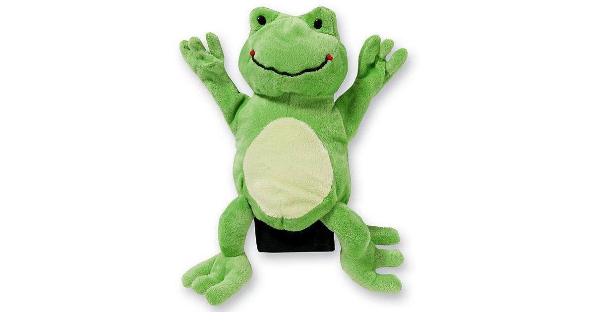 Handpuppe Frosch, 22 cm