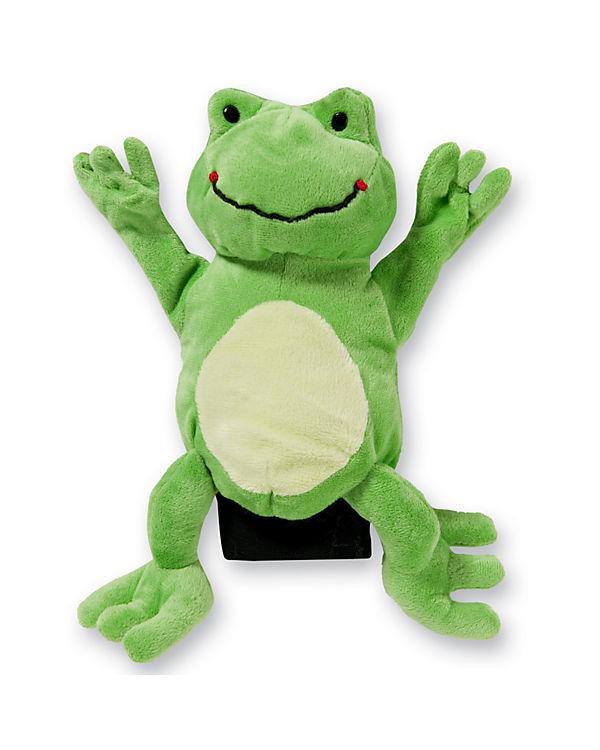 Handpuppe Frosch, 22 cm, beleduc