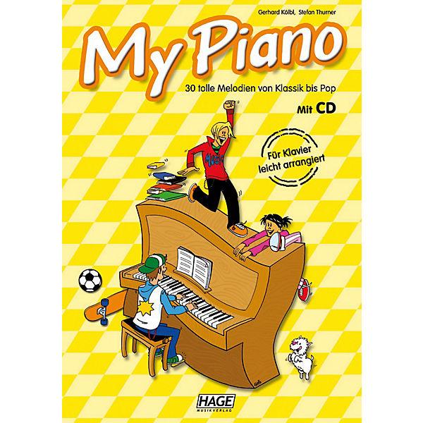 My Piano - 30 tolle Melodien von Klassik bis Pop, mit Audio-CD,