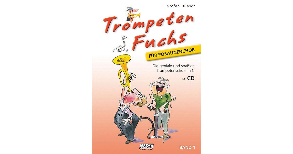 Trompeten Fuchs Posaunenchor 1, mit Audio-CD Ki...