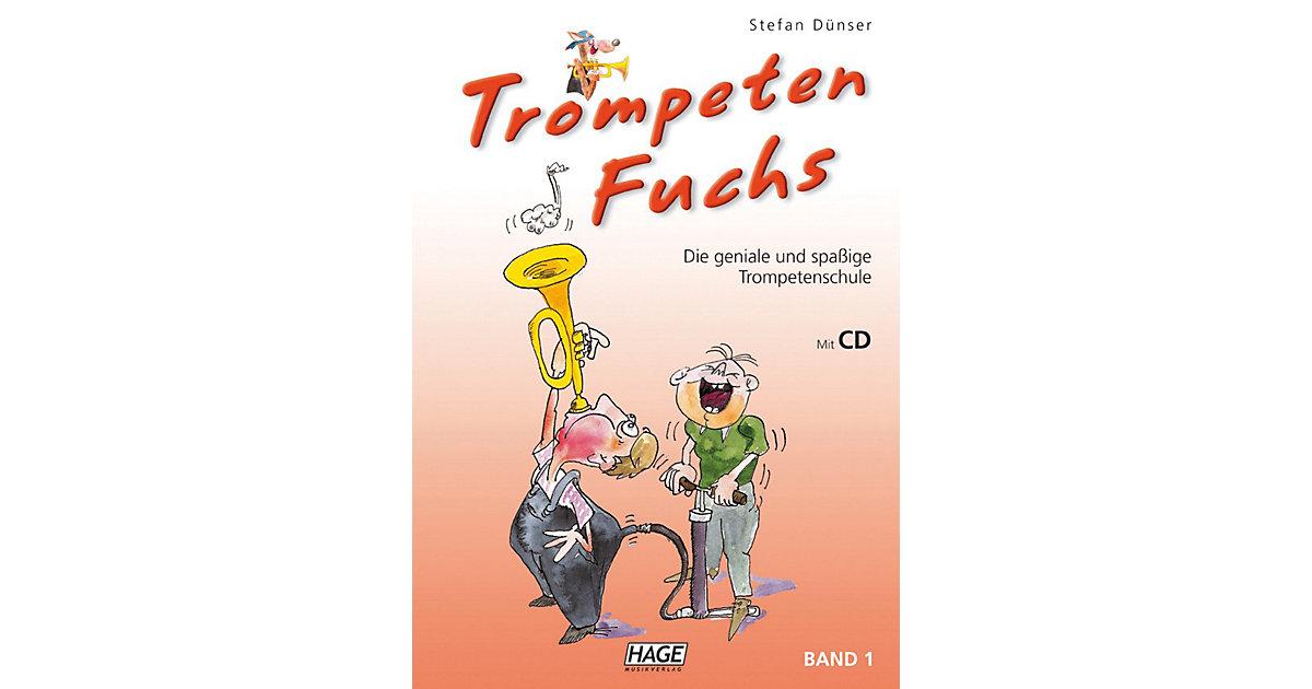 Trompeten Fuchs 1, mit Audio-CD