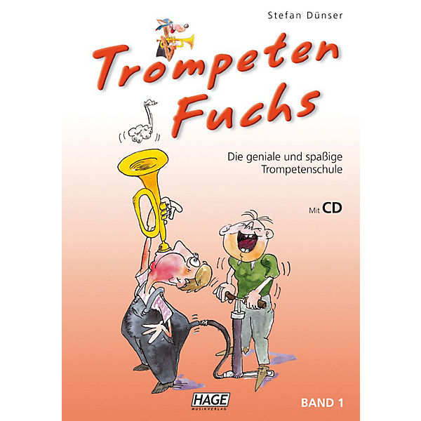 Trompeten Fuchs 1, mit Audio-CD