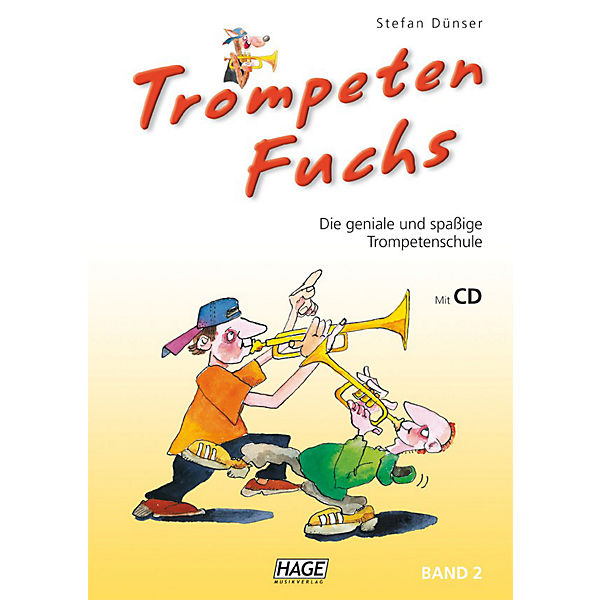 Trompeten Fuchs 2, mit Audio-CD