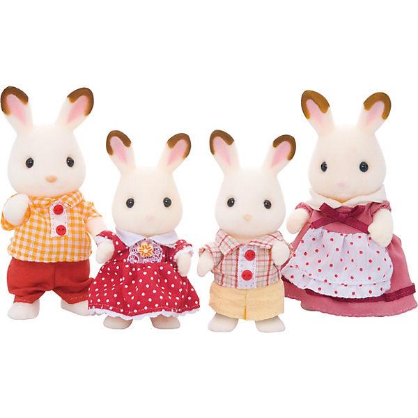 """Набор """"Семья шоколадных кроликов"""" Sylvanian Families"""