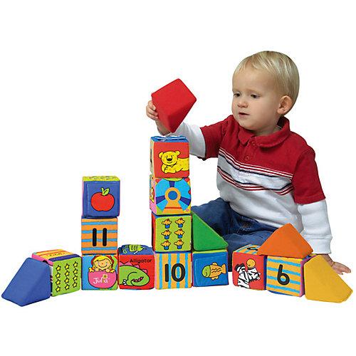 "K's Kids Кубики мягкие ""Учись, играя"" от K's Kids"