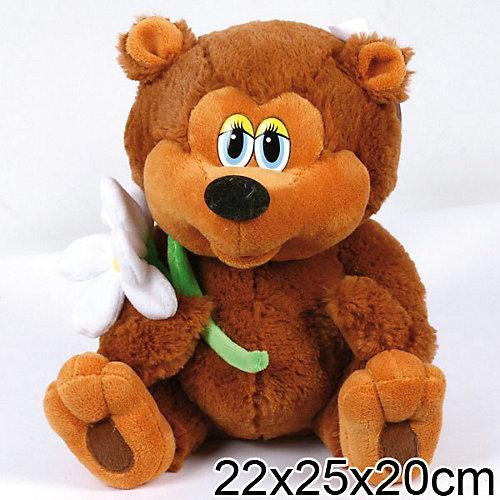 """Мягкая игрушка Медвежонок, 25 см, """"Трям, Здравствуйте"""", МУЛЬТИ-ПУЛЬТИ от Мульти-Пульти"""