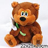 """Мягкая игрушка Медвежонок, 25 см, """"Трям, Здравствуйте"""", МУЛЬТИ-ПУЛЬТИ"""