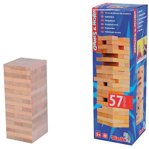 Holzklötze Spiel