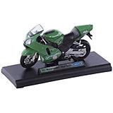 Welly Модель мотоцикла 1:18 MOTORCYCLE / KAWASAKI 2001 NINJA  ZX-12R