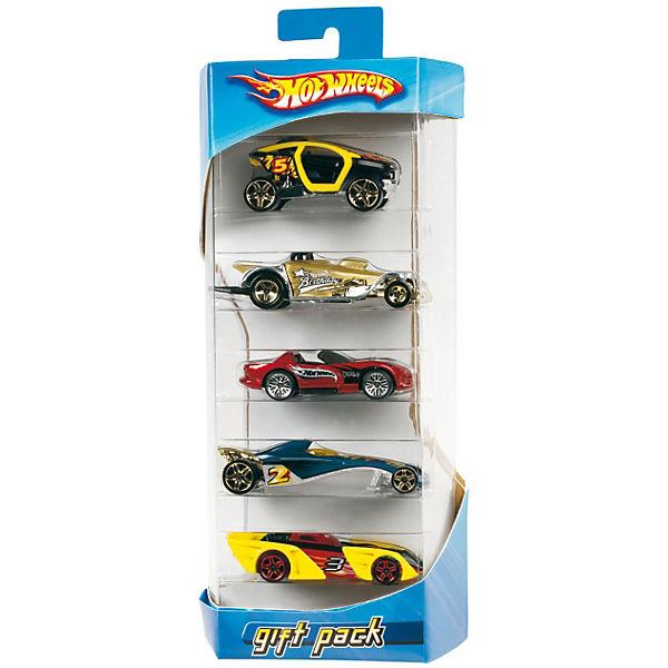 Hot Wheels Подарочный набор из 5 машинок
